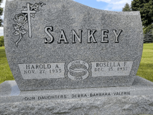Cemetery Lettering - Before - Family Memorials by Gibson