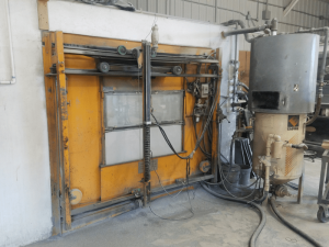 One of Our Semi Automated Sandblasting Boxes