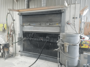 One of our Semi Automated Sandblasting Boxes (2)