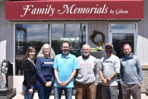 Family Memorials by Gibson - The Gibson Family